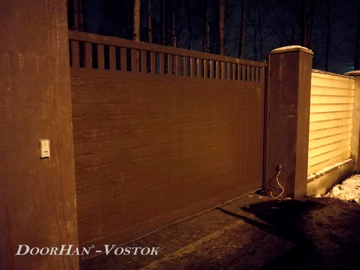 Сдвижные ворота